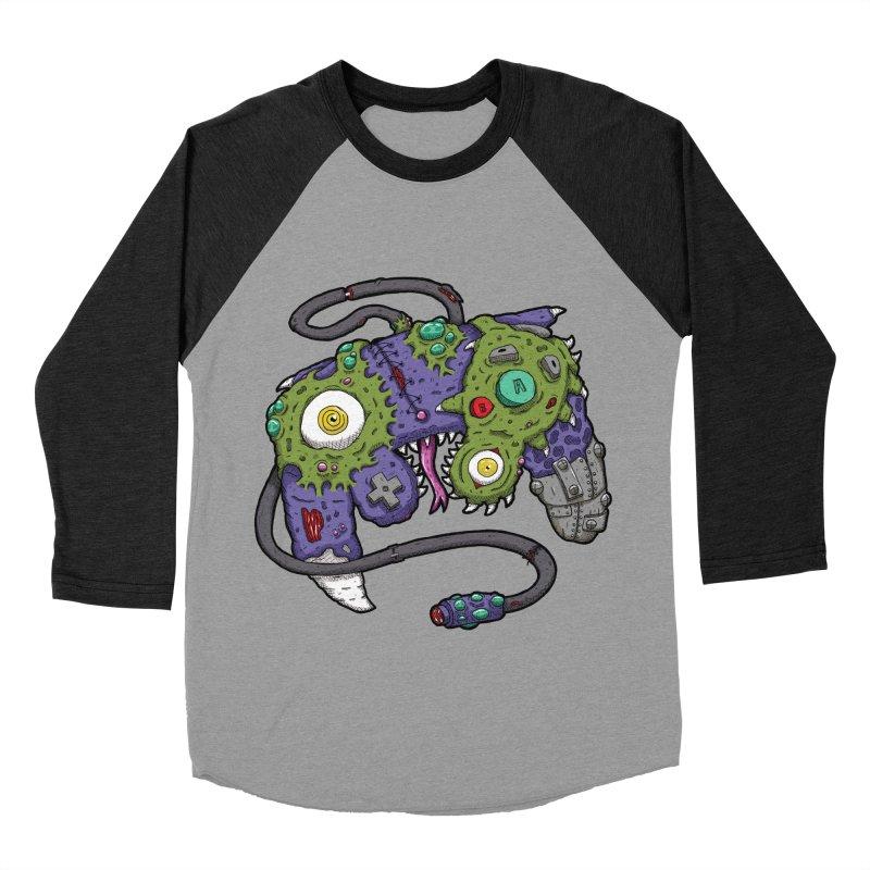 Controller Freaks - G4M3CUB3 Women's Baseball Triblend Longsleeve T-Shirt by Mystic Soda