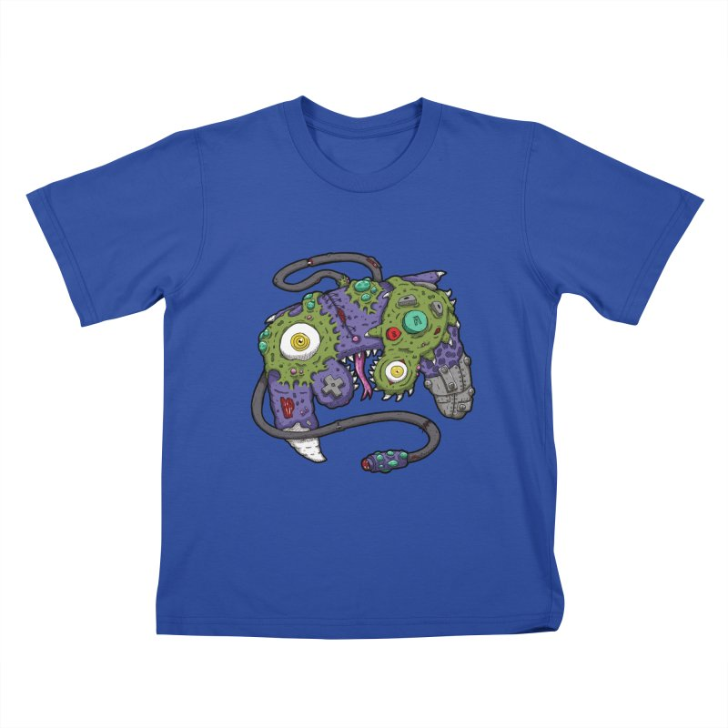 Controller Freaks - G4M3CUB3 Kids T-Shirt by Mystic Soda