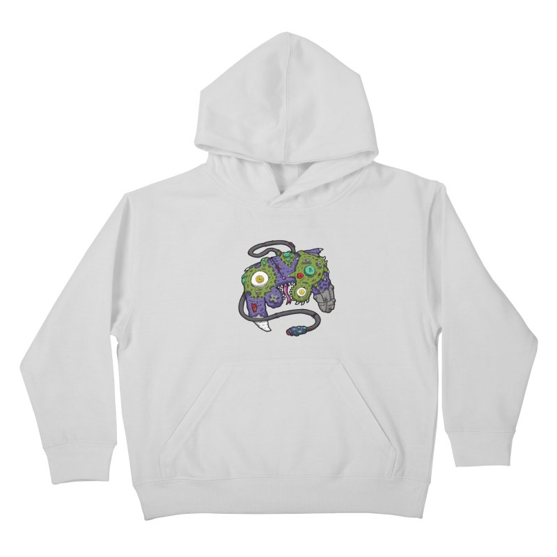 Controller Freaks - G4M3CUB3 Kids Pullover Hoody by Mystic Soda
