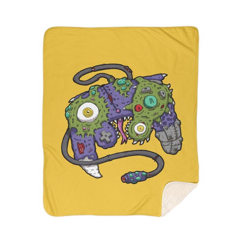 Controller Freaks - G4M3CUB3 Home Sherpa Blanket Blanket by Mystic Soda