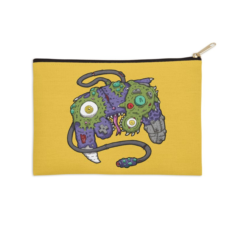 Controller Freaks - G4M3CUB3 Accessories Zip Pouch by Mystic Soda