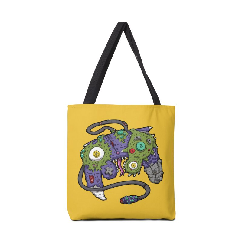 Controller Freaks - G4M3CUB3 Accessories Tote Bag Bag by Mystic Soda