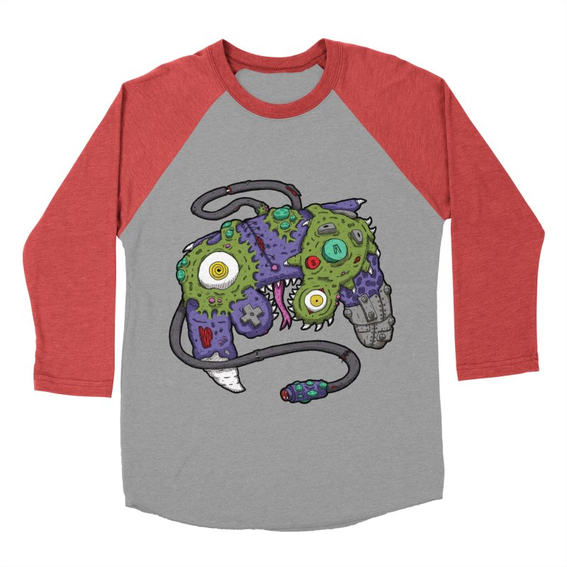Controller Freaks - The GameCube Men's Longsleeve T-Shirt by Mystic Soda Shoppe