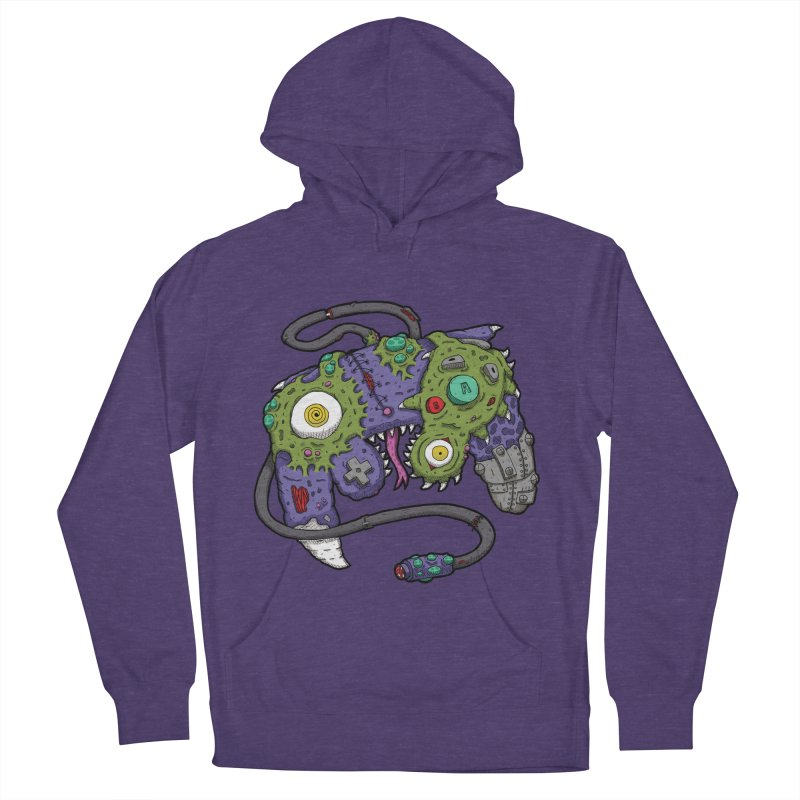 Controller Freaks - The GameCube Men's French Terry Pullover Hoody by Mystic Soda Shoppe