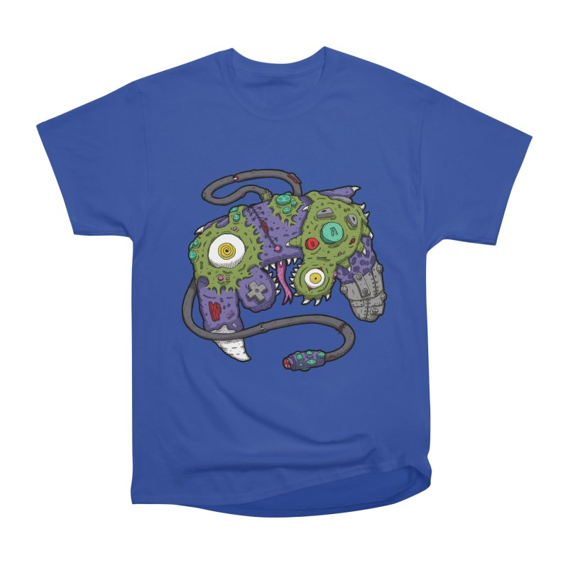 Controller Freaks - The GameCube Women's Heavyweight Unisex T-Shirt by Mystic Soda Shoppe