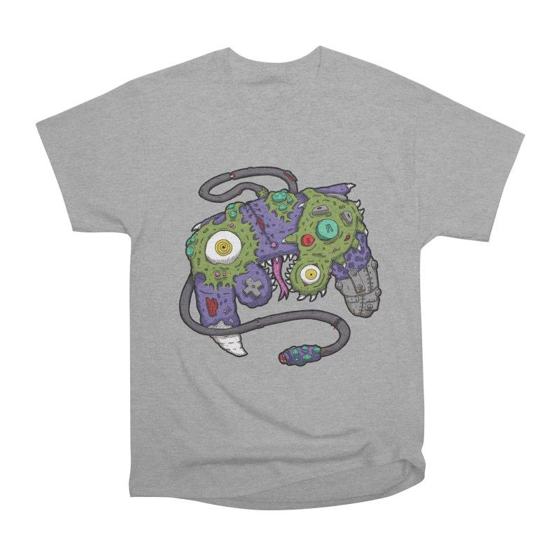 Controller Freaks - G4M3CUB3 Women's Heavyweight Unisex T-Shirt by Mystic Soda