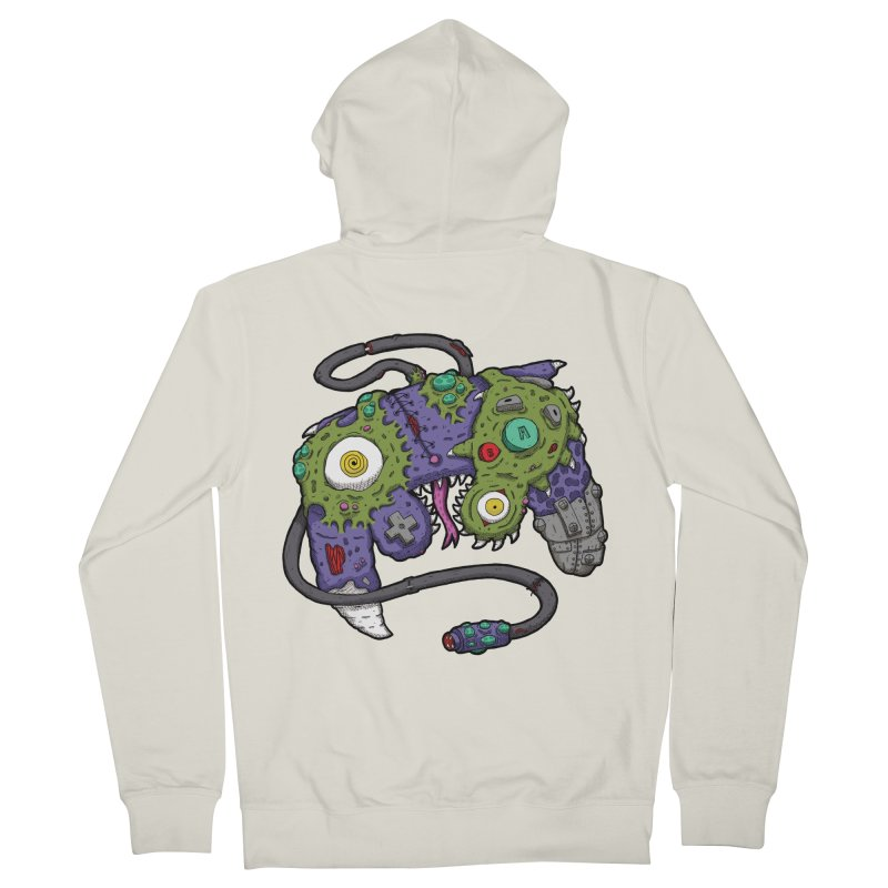 Controller Freaks - The GameCube Men's French Terry Zip-Up Hoody by Mystic Soda Shoppe