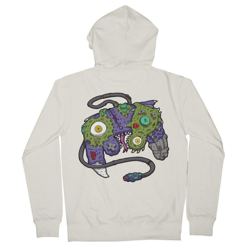 Controller Freaks - The GameCube Men's Zip-Up Hoody by Mystic Soda Shoppe