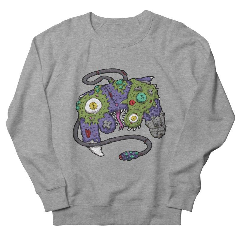 Controller Freaks - G4M3CUB3 Men's French Terry Sweatshirt by Mystic Soda Shoppe