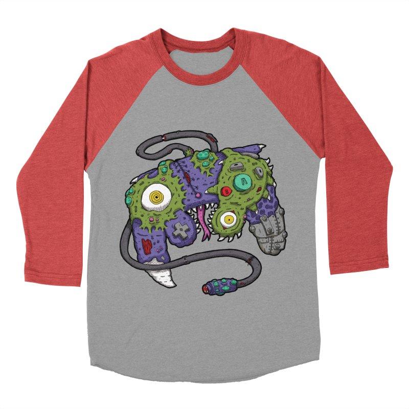Controller Freaks - The GameCube Women's Baseball Triblend T-Shirt by Mystic Soda Shoppe
