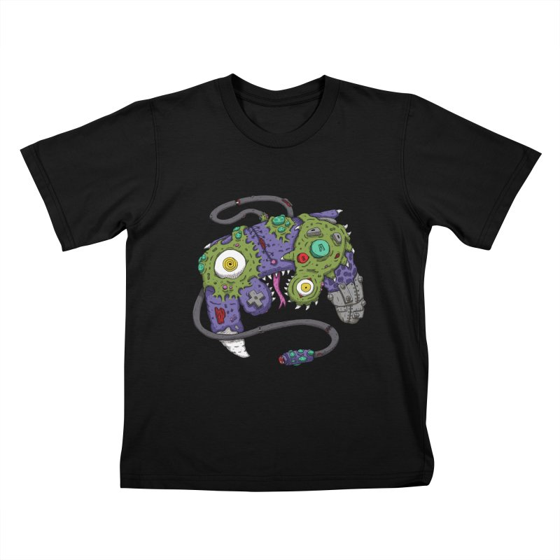 Controller Freaks - The GameCube Kids T-Shirt by Mystic Soda Shoppe