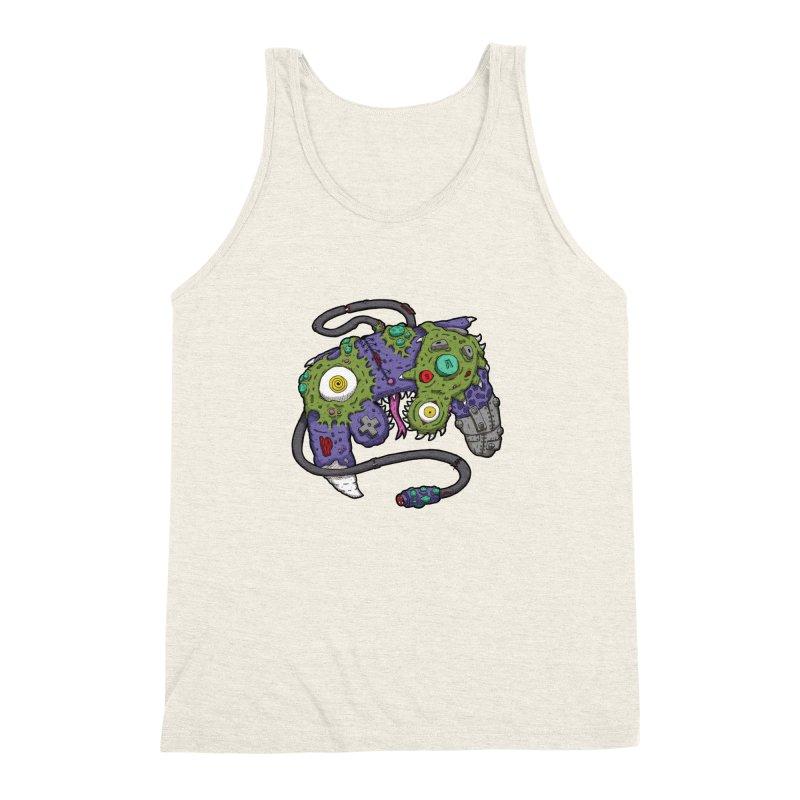 Controller Freaks - The GameCube Men's Triblend Tank by Mystic Soda Shoppe