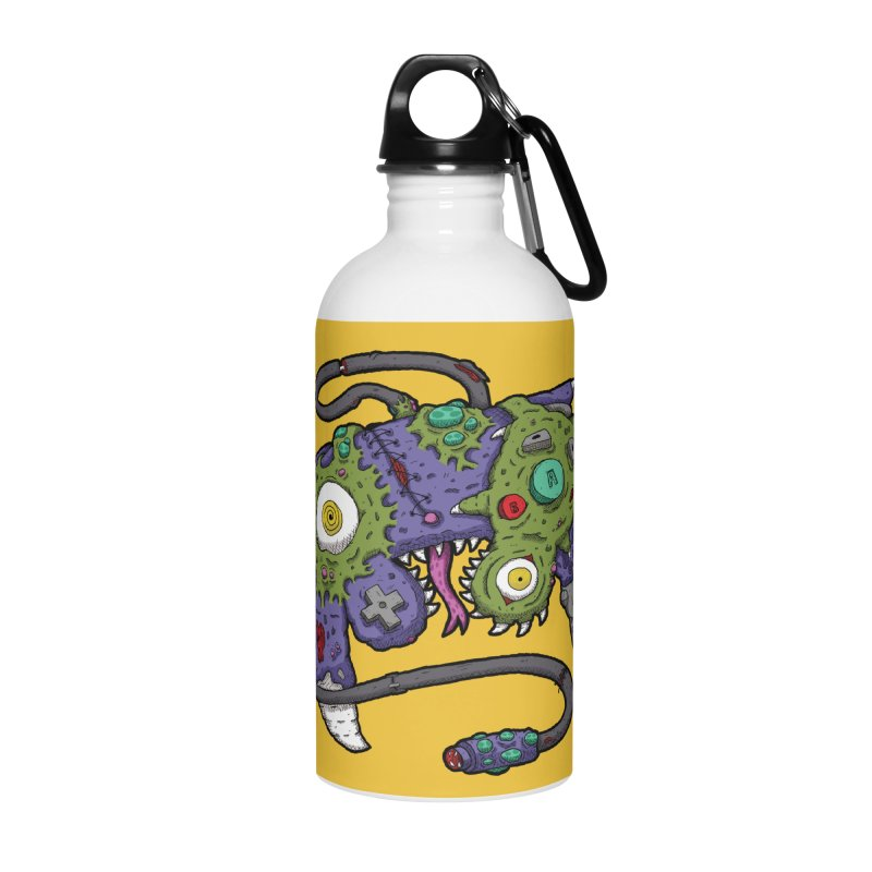 Controller Freaks - G4M3CUB3 Accessories Water Bottle by Mystic Soda