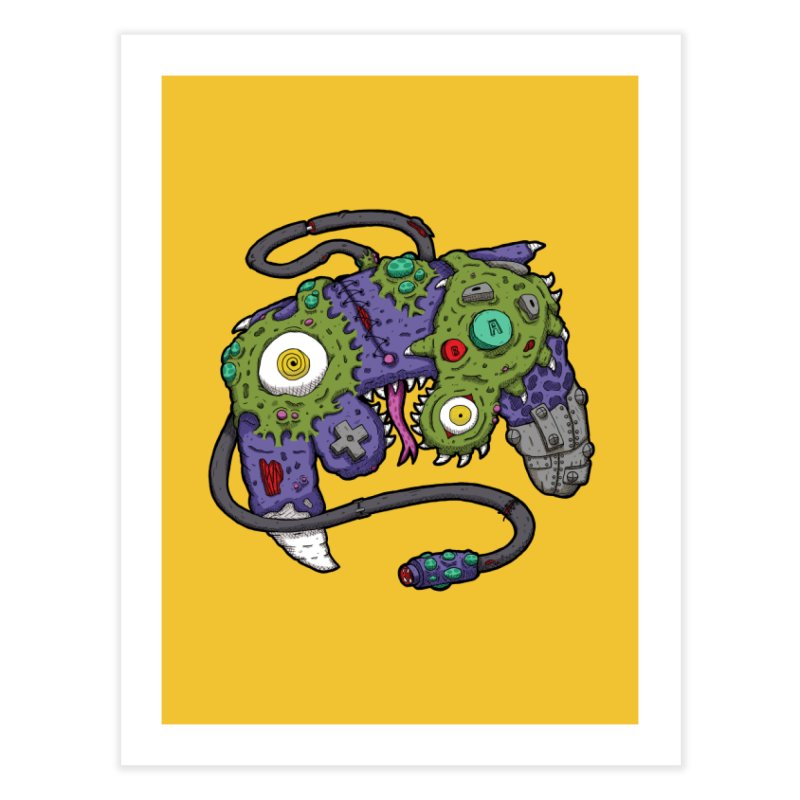Controller Freaks - The GameCube Home Fine Art Print by Mystic Soda Shoppe