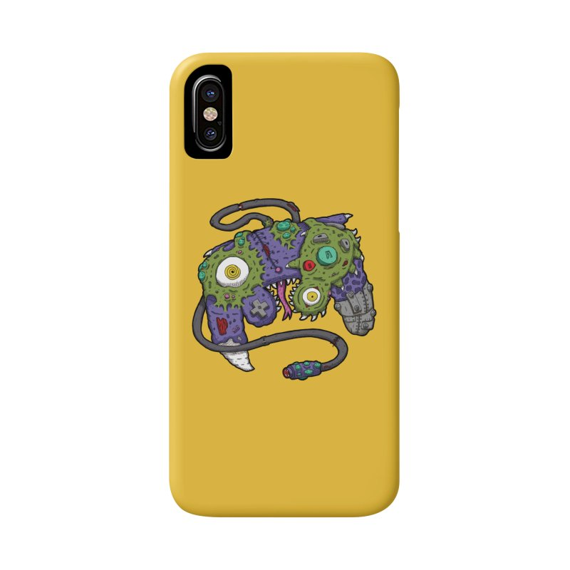 Controller Freaks - The GameCube Accessories Phone Case by Mystic Soda Shoppe