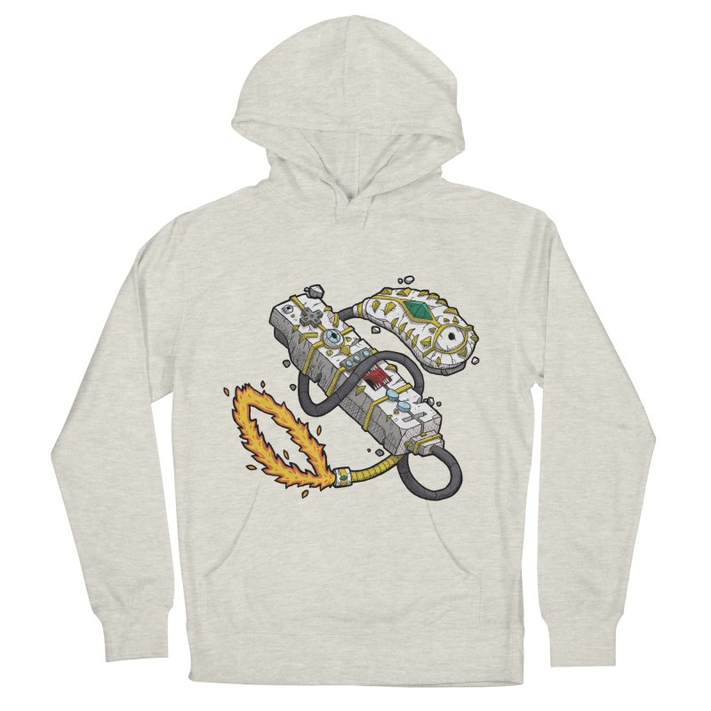 Controller Freaks - The WiiMote Women's French Terry Pullover Hoody by Mystic Soda Shoppe
