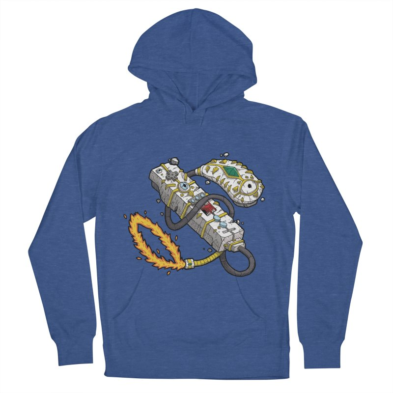 Controller Freaks - The WiiMote Men's French Terry Pullover Hoody by Mystic Soda Shoppe