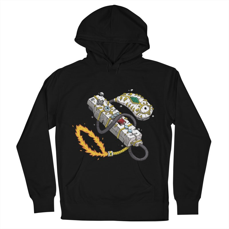 Controller Freaks - The W11-Mote Men's French Terry Pullover Hoody by Mystic Soda