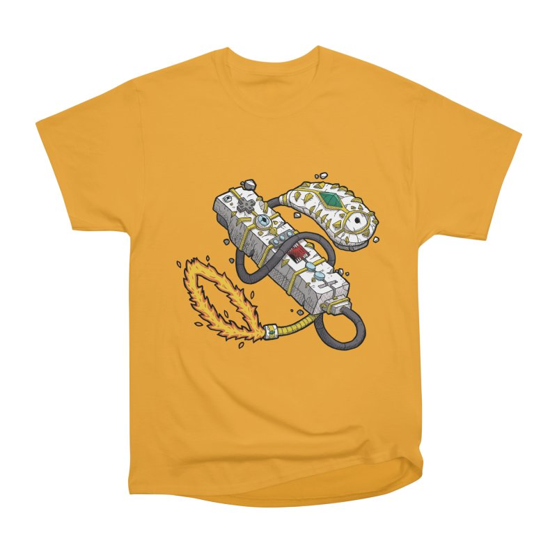 Controller Freaks - The WiiMote Men's Heavyweight T-Shirt by Mystic Soda Shoppe