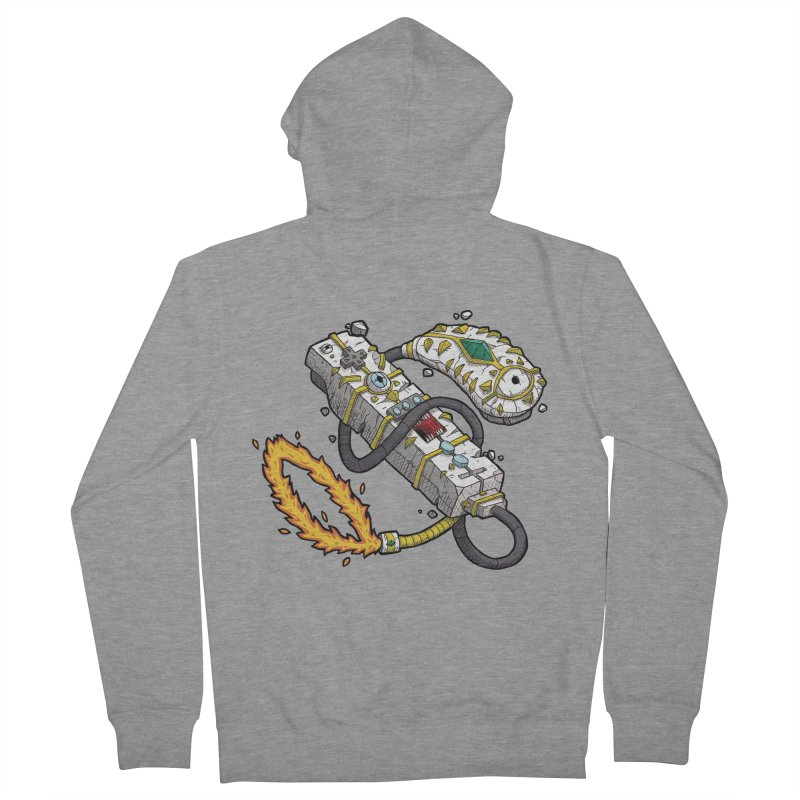 Controller Freaks - The WiiMote Women's French Terry Zip-Up Hoody by Mystic Soda Shoppe