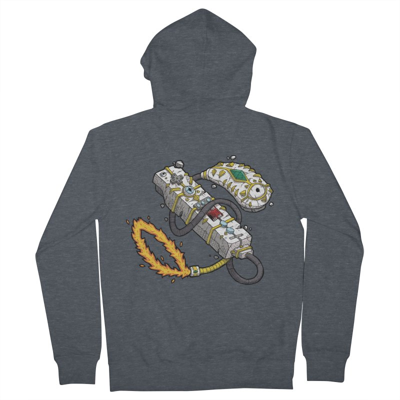 Controller Freaks - The WiiMote Men's French Terry Zip-Up Hoody by Mystic Soda Shoppe
