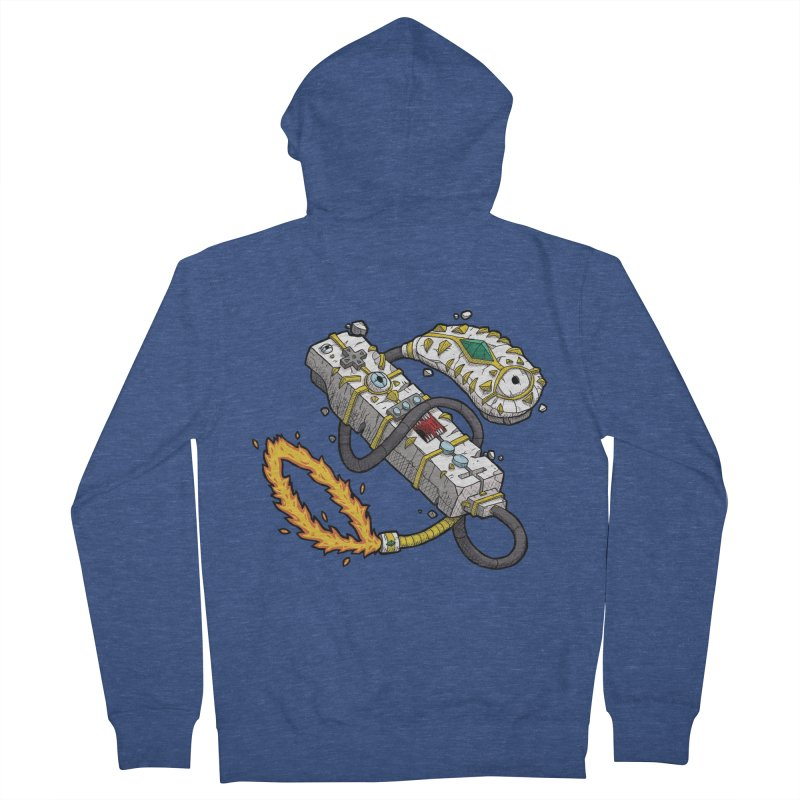Controller Freaks - The W11-Mote Men's French Terry Zip-Up Hoody by Mystic Soda