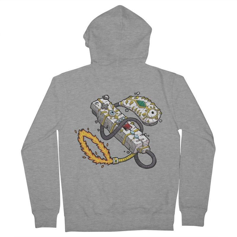 Controller Freaks - The WiiMote Men's Zip-Up Hoody by Mystic Soda Shoppe
