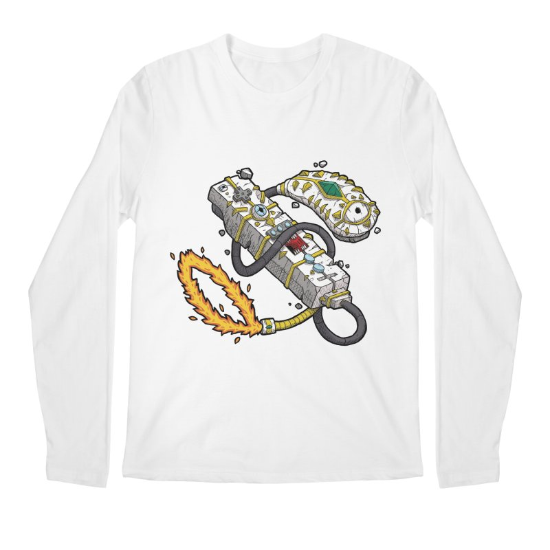 Controller Freaks - The WiiMote Men's Regular Longsleeve T-Shirt by Mystic Soda Shoppe