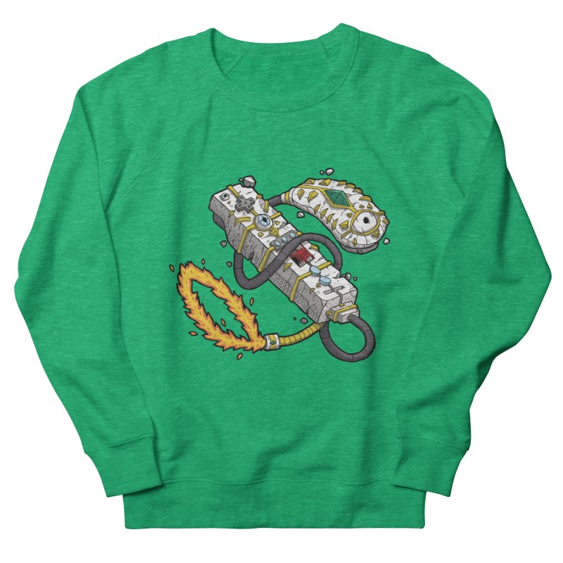 Controller Freaks - The WiiMote Men's French Terry Sweatshirt by Mystic Soda Shoppe