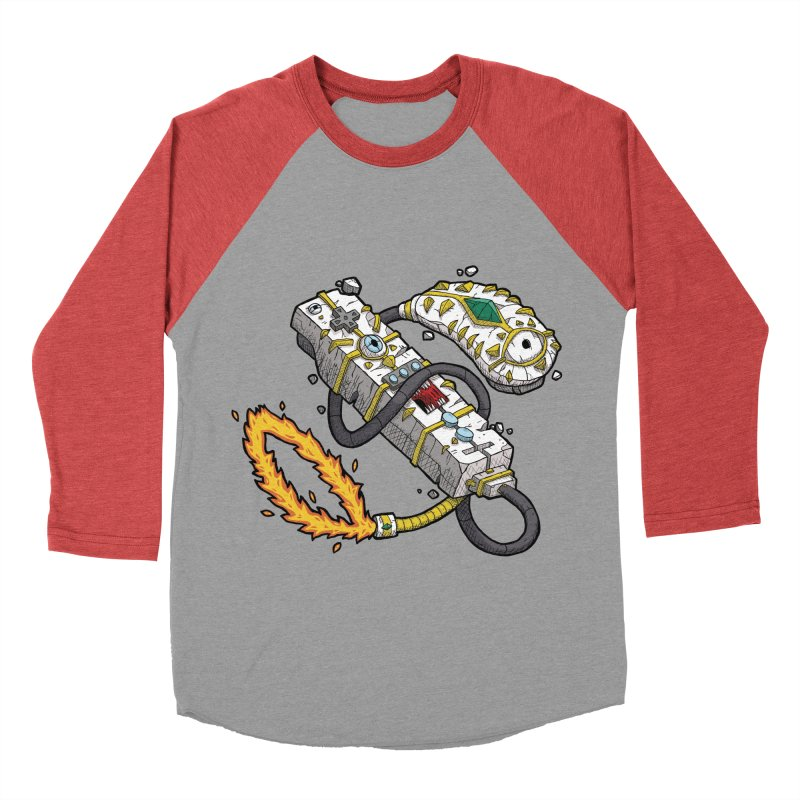 Controller Freaks - The WiiMote Women's Baseball Triblend T-Shirt by Mystic Soda Shoppe