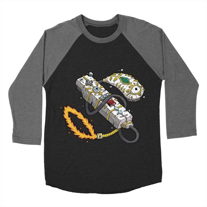 Controller Freaks - The WiiMote Men's Baseball Triblend Longsleeve T-Shirt by Mystic Soda Shoppe