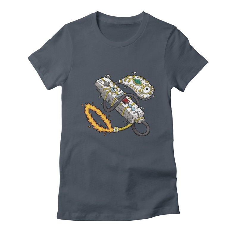 Controller Freaks - The W11-Mote Women's T-Shirt by Mystic Soda
