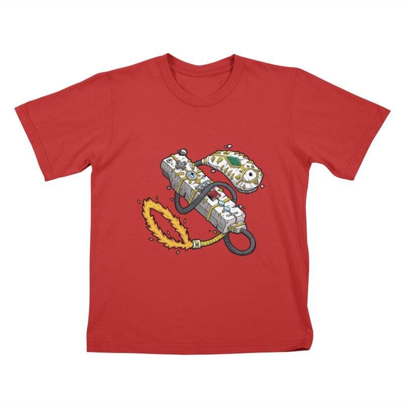 Controller Freaks - The WiiMote Kids T-Shirt by Mystic Soda Shoppe