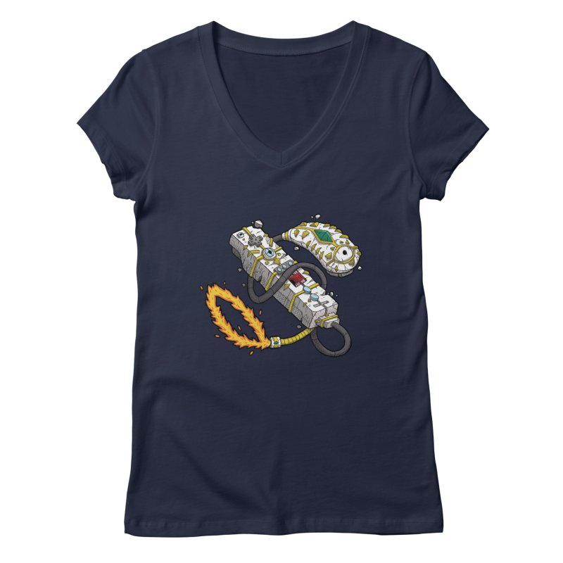 Controller Freaks - The W11-Mote Women's Regular V-Neck by Mystic Soda