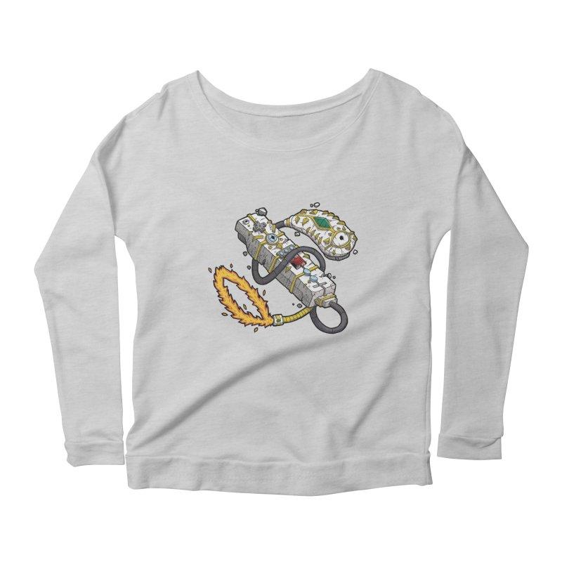 Controller Freaks - The W11-Mote Women's Scoop Neck Longsleeve T-Shirt by Mystic Soda