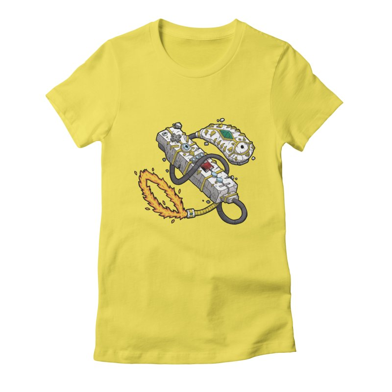Controller Freaks - The WiiMote Women's Fitted T-Shirt by Mystic Soda Shoppe