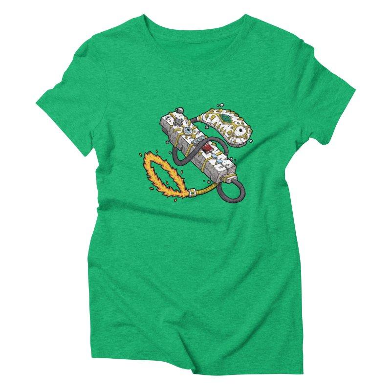 Controller Freaks - The W11-Mote Women's Triblend T-Shirt by Mystic Soda