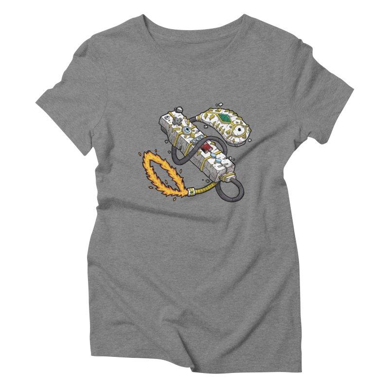 Controller Freaks - The WiiMote Women's Triblend T-Shirt by Mystic Soda Shoppe