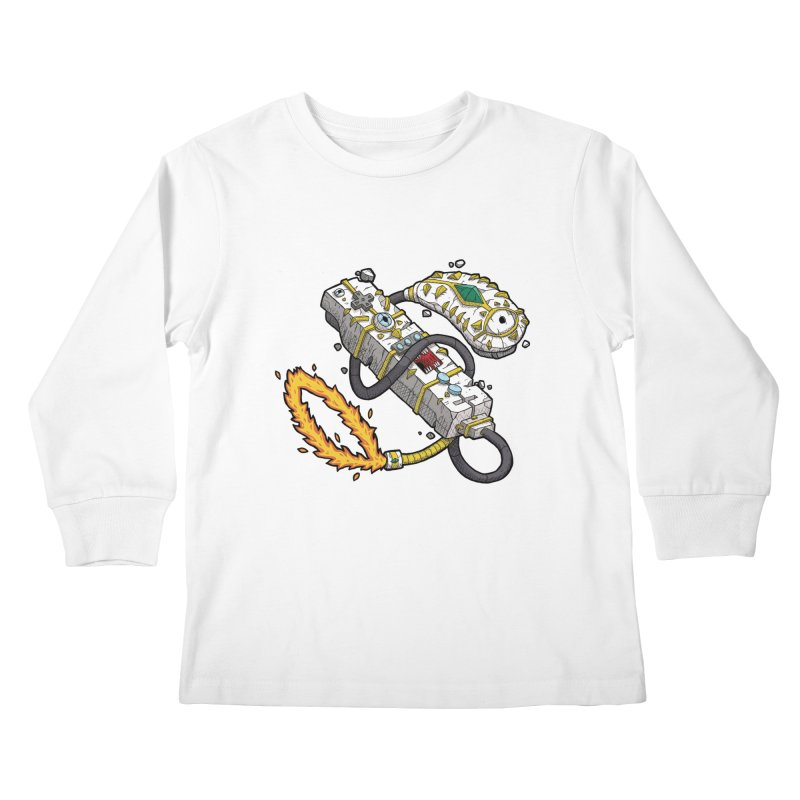 Controller Freaks - The W11-Mote Kids Longsleeve T-Shirt by Mystic Soda