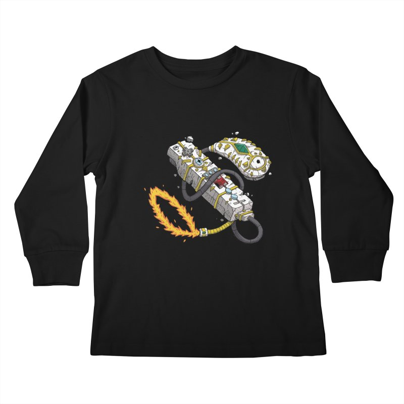 Controller Freaks - The WiiMote Kids Longsleeve T-Shirt by Mystic Soda Shoppe