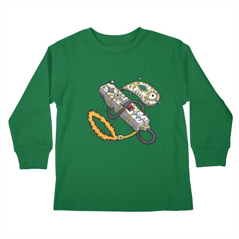 Controller Freaks - The WiiMote Kids Longsleeve T-Shirt by Mystic Soda Shoppe