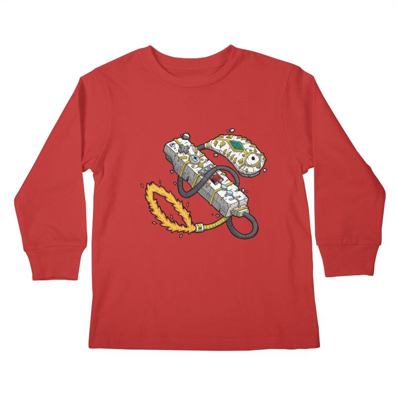 Controller Freaks - The W11-Mote Kids Longsleeve T-Shirt by Mystic Soda