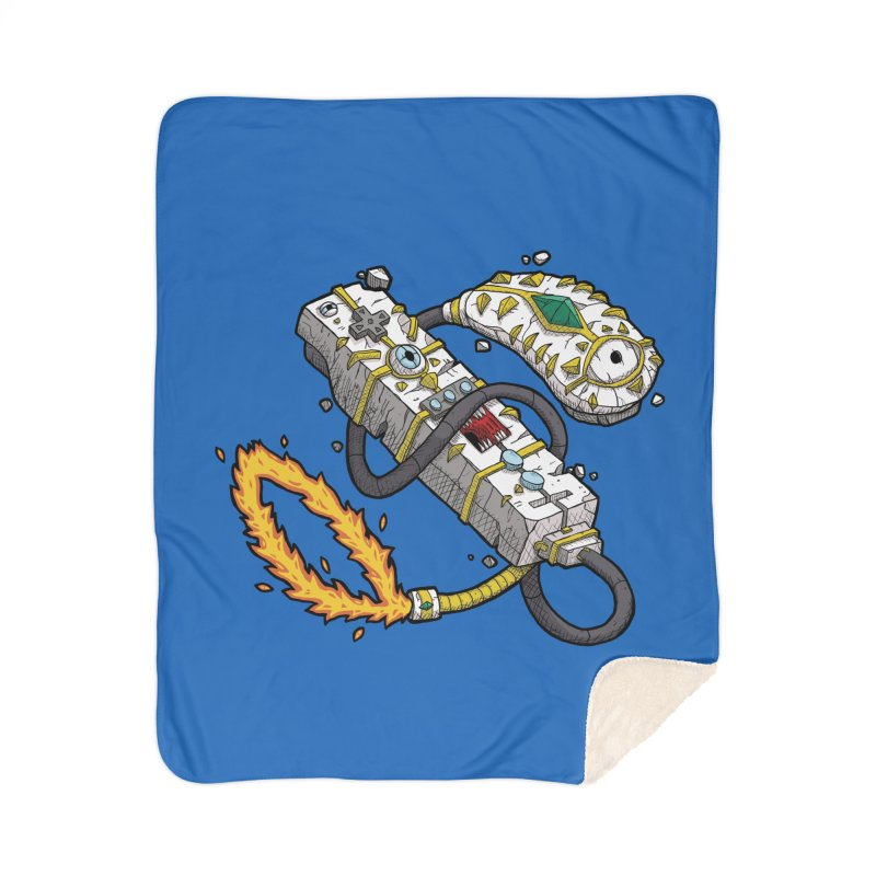 Controller Freaks - The W11-Mote Home Sherpa Blanket Blanket by Mystic Soda