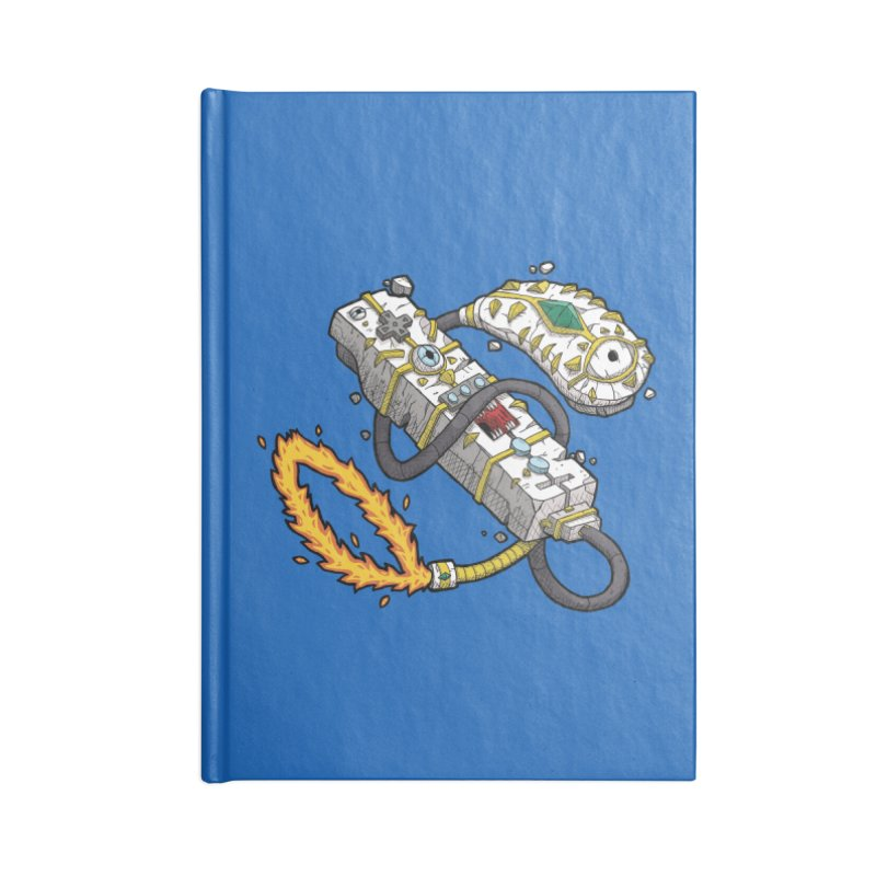 Controller Freaks - The W11-Mote Accessories Lined Journal Notebook by Mystic Soda