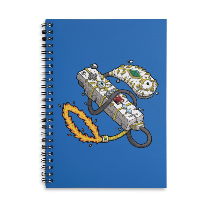 Controller Freaks - The W11-Mote Accessories Lined Spiral Notebook by Mystic Soda