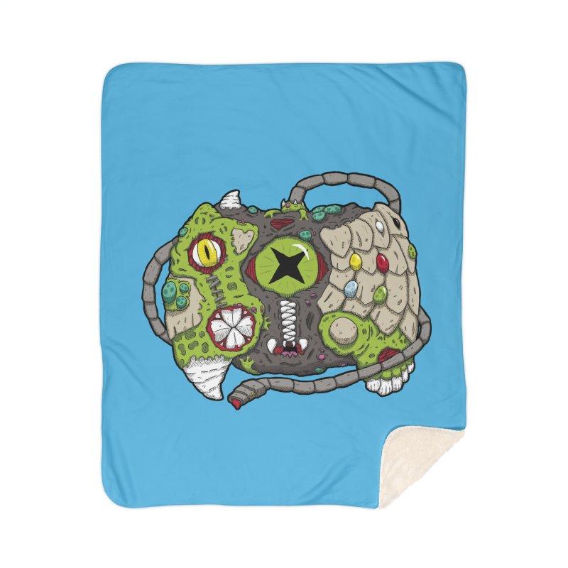 Controller Freaks - Specimen X-B0X Home Sherpa Blanket Blanket by Mystic Soda