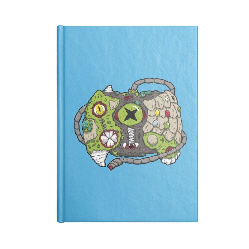 Controller Freaks - Specimen X-B0X Accessories Lined Journal Notebook by Mystic Soda