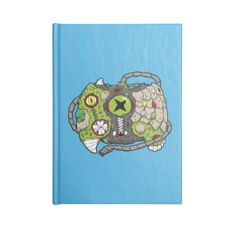 Controller Freaks - Specimen X-B0X Accessories Blank Journal Notebook by Mystic Soda