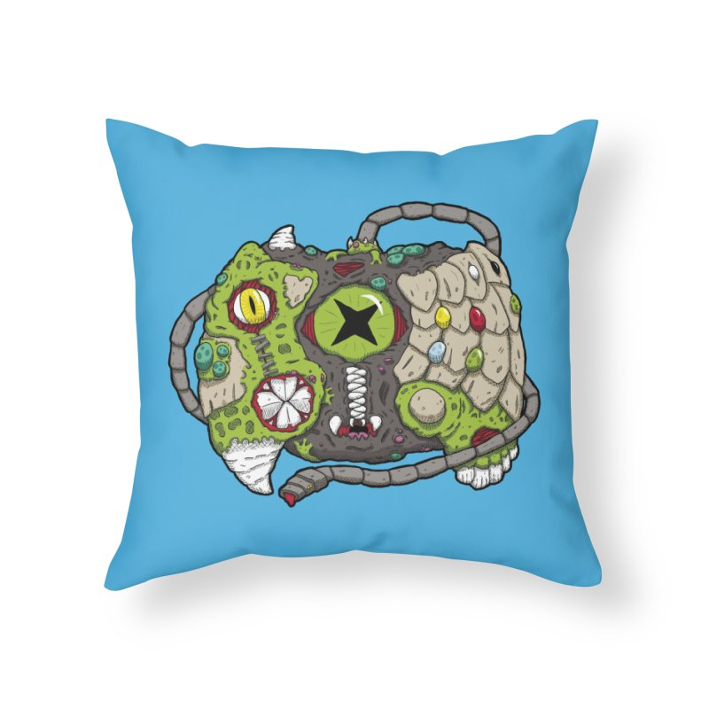 Controller Freaks - The XBOX (Original) Home Throw Pillow by Mystic Soda Shoppe