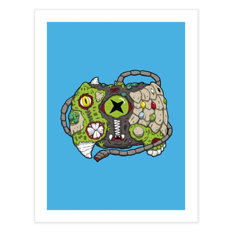 Controller Freaks - The XBOX (Original) Home Fine Art Print by Mystic Soda Shoppe